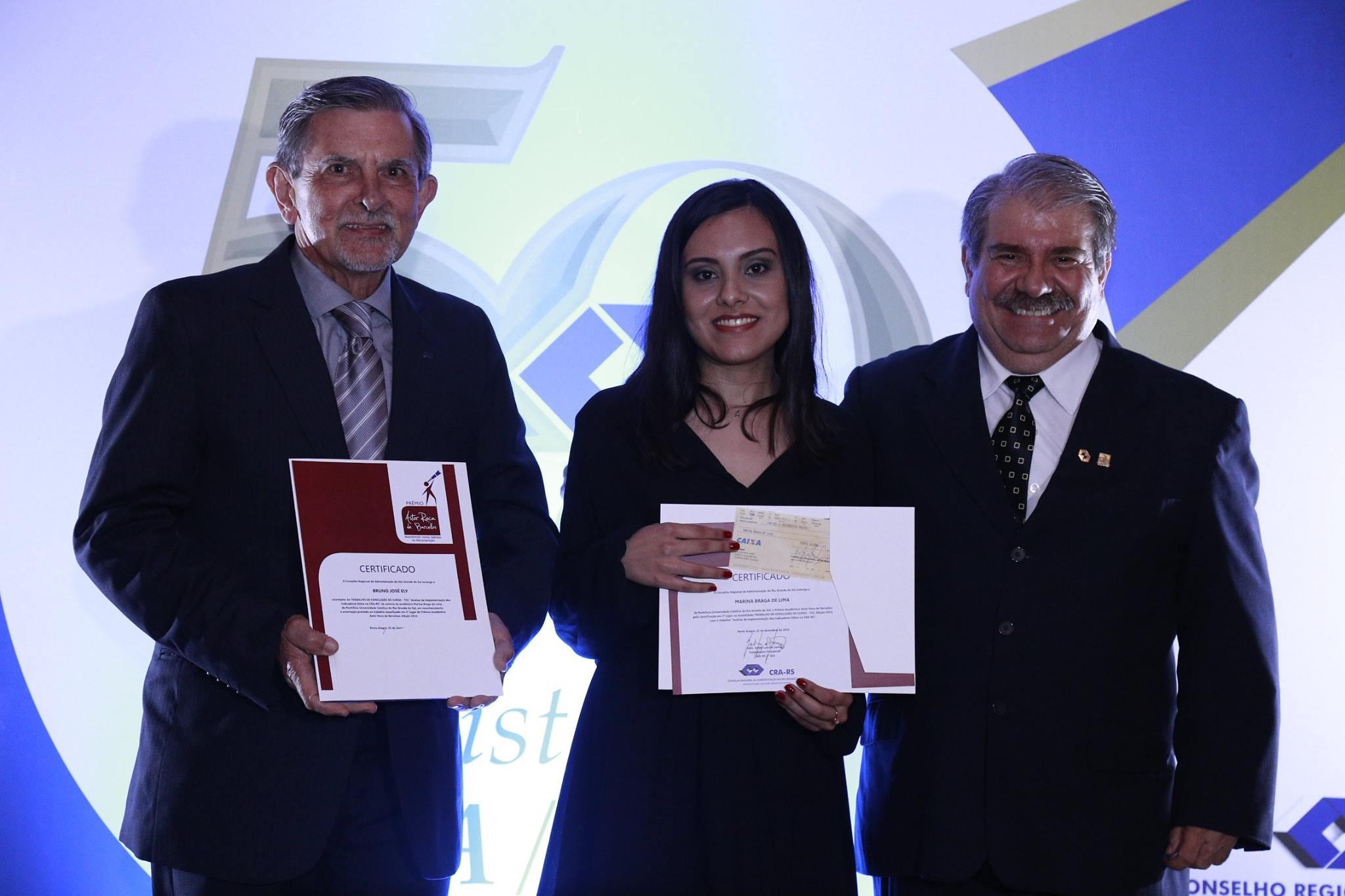 PRÊMIO ACADÊMICO ASTOR ROCA DE BARCELLOS - Análise da Implementação dos Indicadores Ethos no CRA-RS