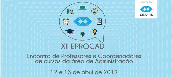 Inscrições para o XII EPROCAD vão até 10 de abril