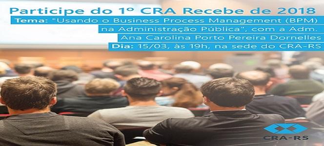 Inscrições abertas para primeiro CRA Recebe do ano
