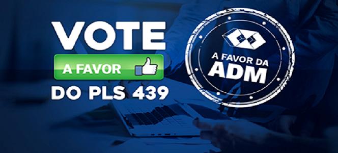 Vote em Projeto de Lei: Administração é para Administradores