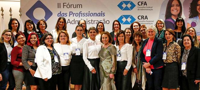 Em Brasília: II Fórum das Profissionais de Administração debate a mulher no mercado de trabalho