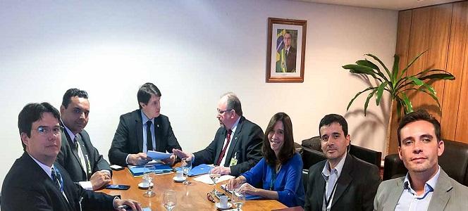 IGM-CFA e PEC 108 são temas de reunião entre representantes do CFA e da Casa Civil