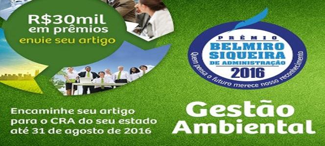 Participe: Prêmio Belmiro Siqueira de Administração