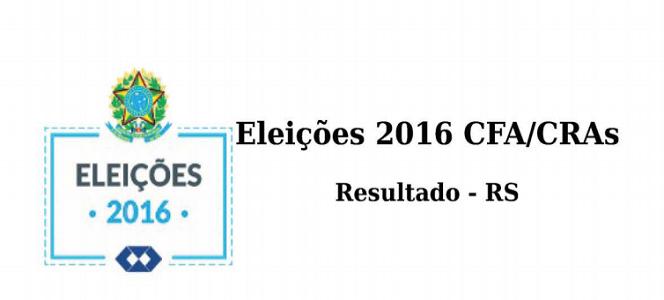 Eleições CRA-RS 2016: Chapa nº 2 vence com 1943 votos