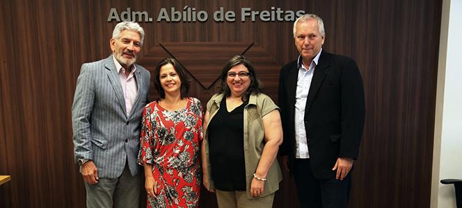 CRA-RS visita sede do Conselho Regional de Administração do Rio de Janeiro
