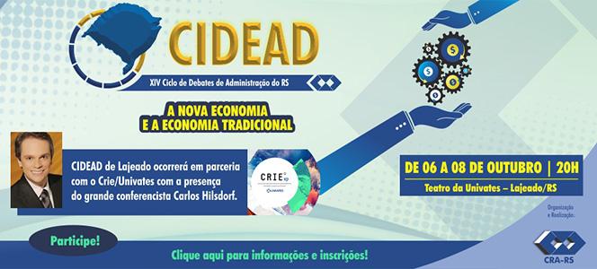 CRA-RS promove XIV edição do CIDEAD em Lajeado