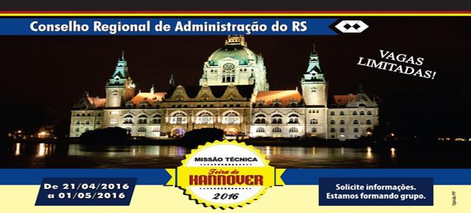 Participe: Missão Técnica à Feira de Hannover acontece em abril