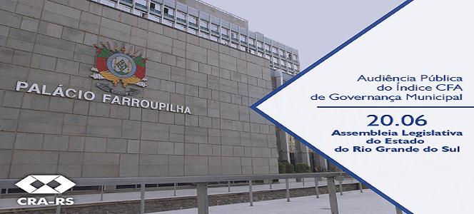 CRA-RS realiza 1º Simpósio de Governança Pública