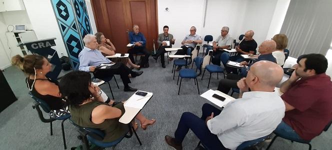 COMCET faz reunião ordinária na sede do CRA-RS e debate fundo para inovação de Poa