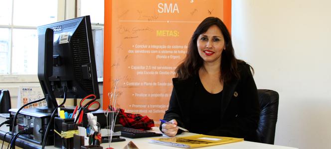Rita de Cássia Eloy palestra na última edição do CRA Recebe 2015