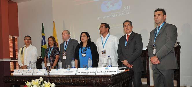 XII Congresso Mundial de Administração em Cartagena de Índias está oficialmente aberto