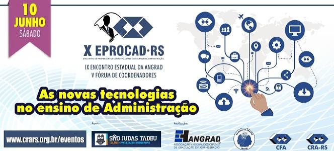 X EPROCAD: encontro para debater as novas tecnologias