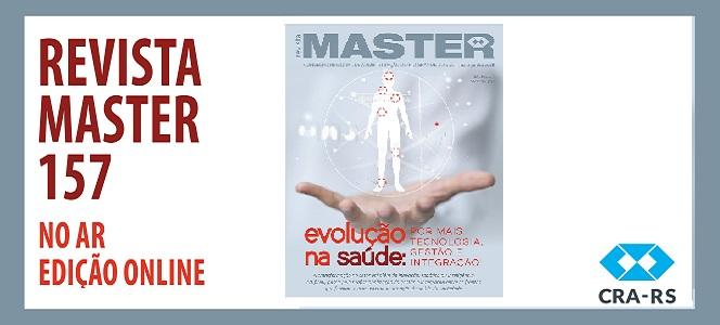 MASTER 157 ESTÁ DISPONÍVEL NA VERSÃO DIGITAL
