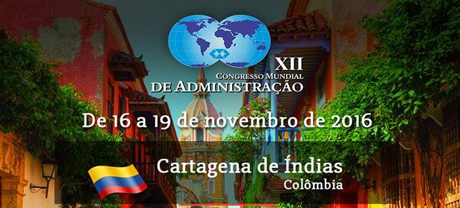 XII Congresso Mundial de Administração acontece nas próximas semanas na Colômbia