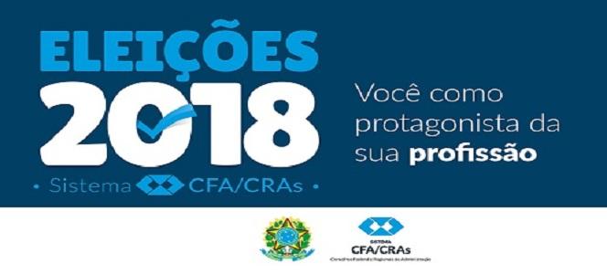 Eleições Sistema CFA/CRAs atualize seu cadastro para participar das Eleições 2018