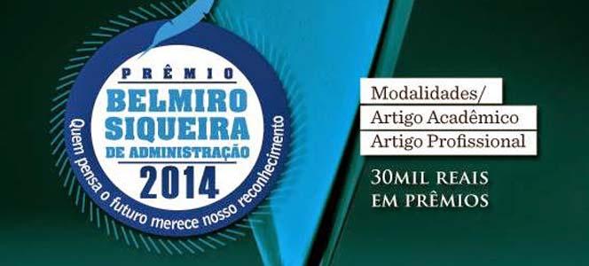 Inscrições abertas para o Prêmio Belmiro Siqueira 2014