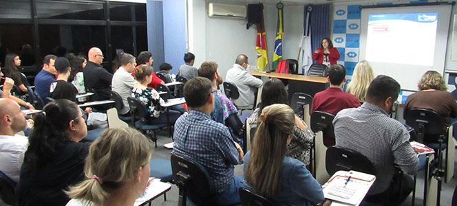 Gestão da saúde é temática tratada no CRA-RS Recebe em Porto Alegre