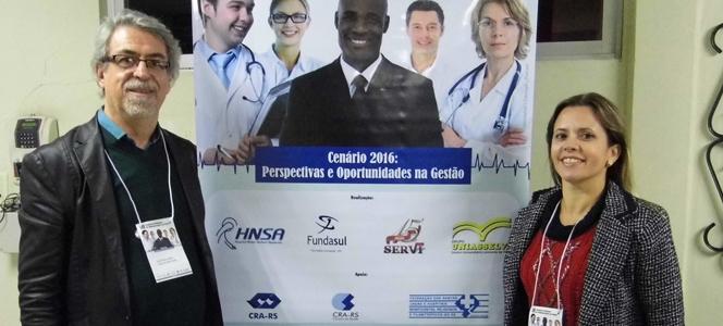 CRA-RS marca presença no III Seminário Regional de Administração em Saúde