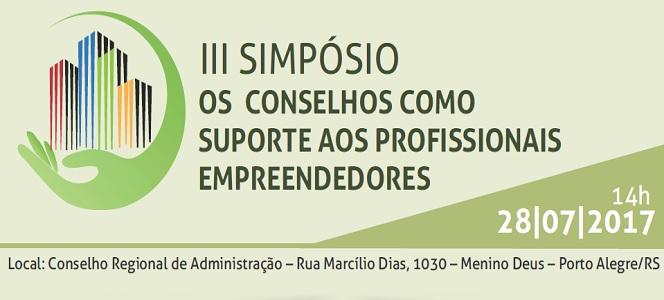 CRA-RS recebe Simpósio realizado pelo Fórum dos Conselhos