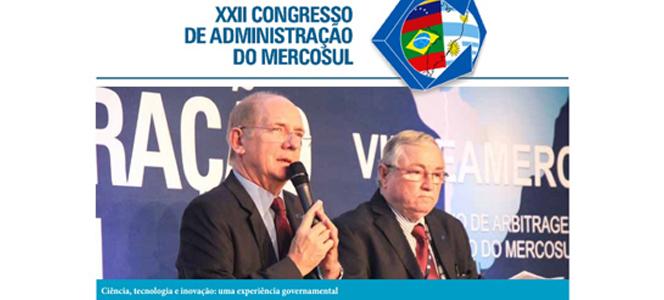 Representantes do CRA-RS participam do XXII Congresso de Administração do Mercosul