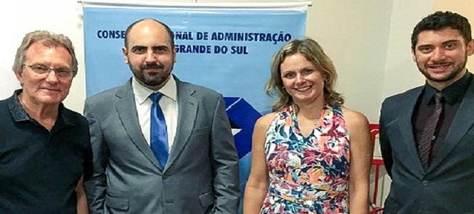 Empossados novo delegado da Seccional de Pelotas e diretoria da Associação dos Profissionais de Admi