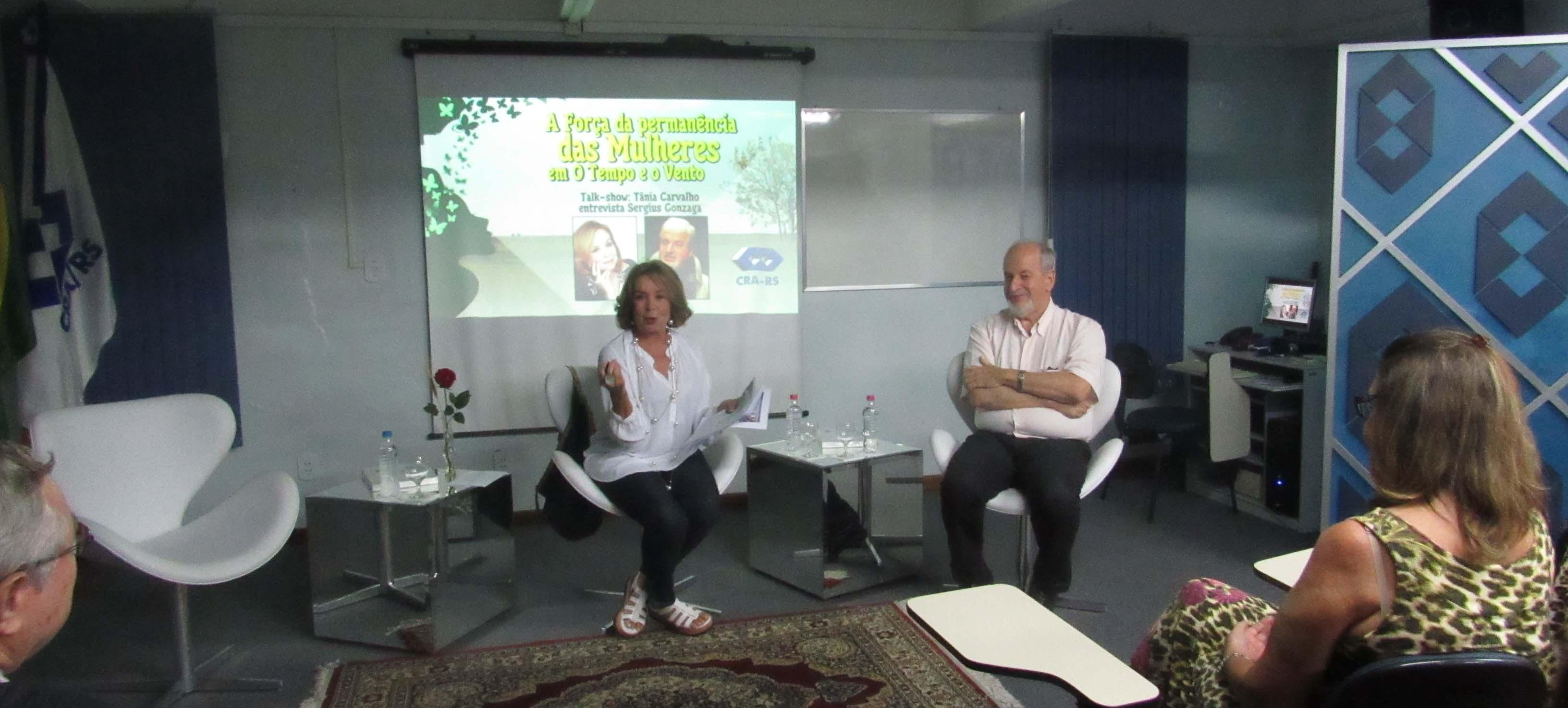 Talk show em homenagem ao Dia da Mulher aborda a força das mulheres descrita por Érico Veríssimo