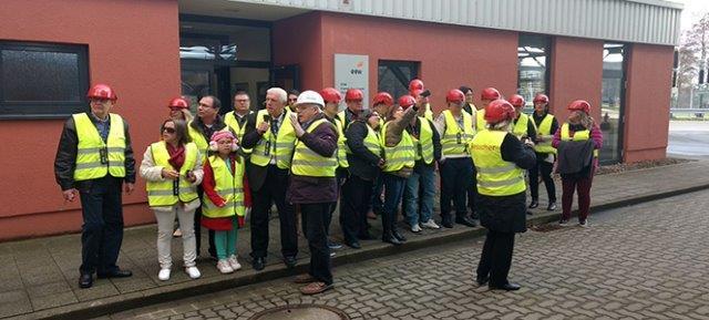 Grupo visita Usina de Reciclagem de Lixo referência no tratamento de resíduos sólidos