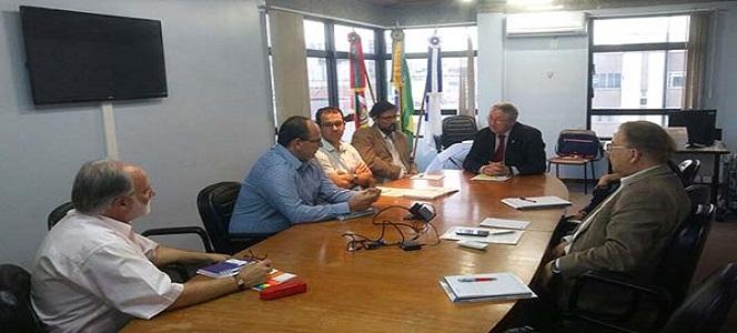 CRA-RS reúne-se com GHC em busca da profissionalização da gestão hospitalar