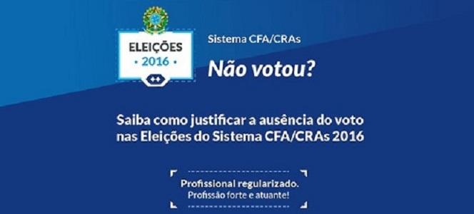 Administrador, justifique seu voto até 17 de dezembro