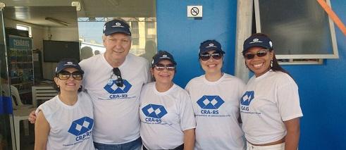 CRA-RS participa de Arrastão da Saúde em Tramandaí