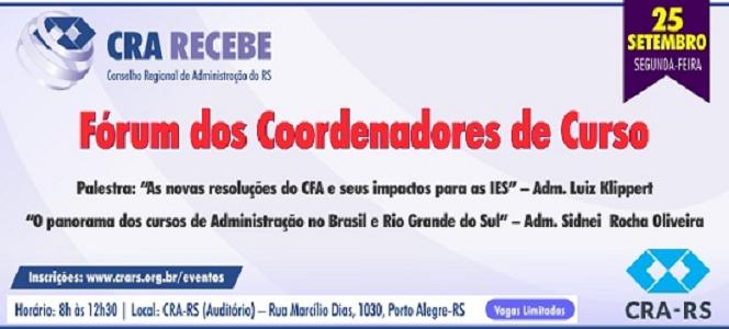 CRA Recebe promove duas palestras no dia 25 de setembro