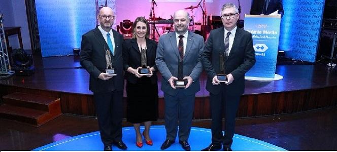 CRA-RS premia profissionais destaques com o Mérito em Administração 2018