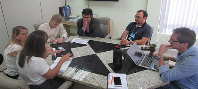 CRA-RS se reúne com federações de jovens empreendedores para futuras parcerias