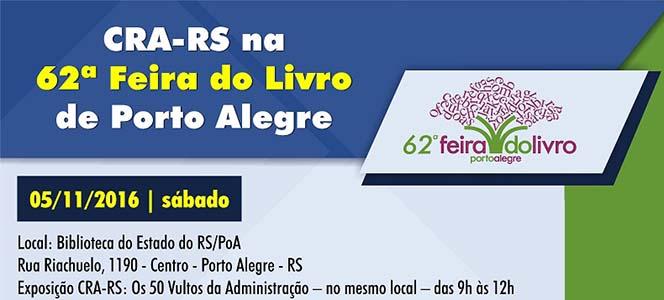 CRA-RS na 62ª Feira do Livro de Porto Alegre